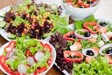 Free Fresh Salad Stock Photography - 18328012