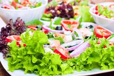 Free Fresh Salad Royalty Free Stock Photography - 18328127