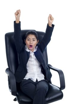 Free Successful Young Businesswoman Stock Image - 18328461