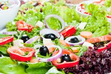 Free Fresh Salad Royalty Free Stock Photography - 18328567