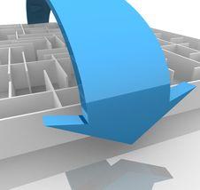 Free Maze Stock Image - 18328701