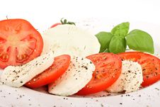 Free Mozzarella 1 Stock Images - 18329154