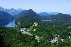 Free Castle In Bavarian Alps Royalty Free Stock Photography - 18329167