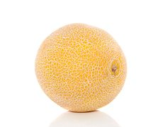 Free A Yellow Fresh Melon Royalty Free Stock Photos - 18329378