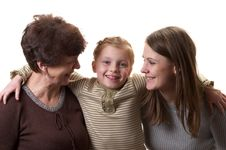 Free Three Generations Stock Photos - 18329523