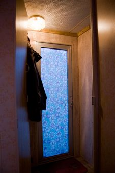Free Mobile Home Door Royalty Free Stock Photo - 18329815