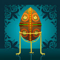 Free Eastel Real Egg Royalty Free Stock Image - 18332076