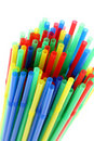 Free Colorful Drinking Straws Royalty Free Stock Images - 18334529