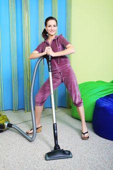 Free Vacuum Cleaner Stock Photo - 18330490