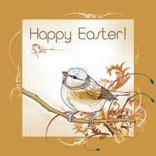 Free Happy Easter Bird Stock Photo - 18330500