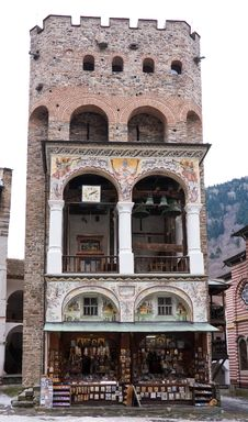 Free Tower In Rila Monastery, Bulgaria Royalty Free Stock Photo - 18332135