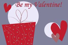 Free Valentine S Gift Box Stock Photo - 18333050