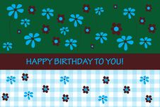 Free Birthday Card Stock Photos - 18333153