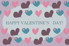 Free Valentine S Card Royalty Free Stock Images - 18333319