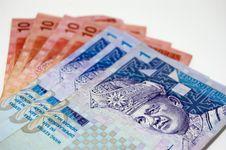 Free Malaysian Bank Notes Royalty Free Stock Photo - 18333605