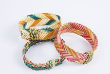 Weave Bracelets Royalty Free Stock Image