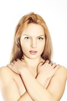Free Beautiful Blonde Royalty Free Stock Photo - 18333725