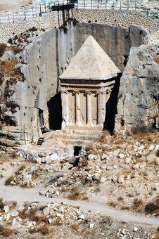 Free The Prophets Revenge Tomb Of Zechariah Royalty Free Stock Photos - 18333898