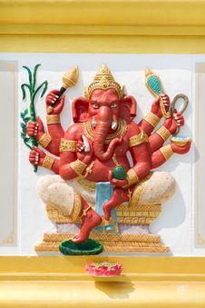 Free Ganesh Royalty Free Stock Image - 18334116