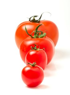 Free Tomato Abstract Royalty Free Stock Photography - 18334287