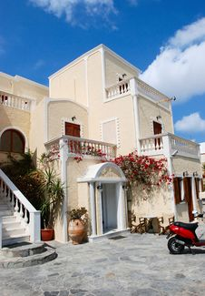 Free Santorini Village Stock Images - 18334744