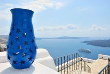 Free Santorini Island Royalty Free Stock Photo - 18334895