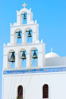 Free Greece Church Royalty Free Stock Image - 18335056