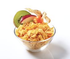 Free Corn Flakes Royalty Free Stock Photos - 18335818