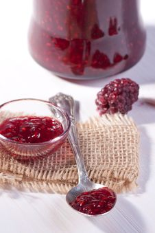 Free Raspberry Jam Stock Photo - 18335850