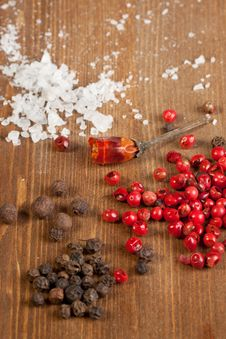 Salt And Pepper S Mix Stock Image