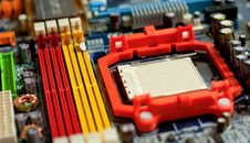 Free Motherboard Royalty Free Stock Image - 18336206
