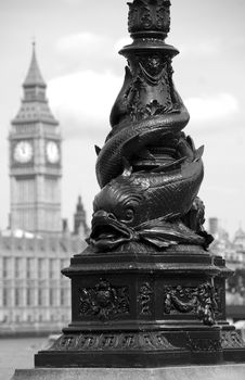 Free Fishing For Big Ben Royalty Free Stock Photo - 18336475