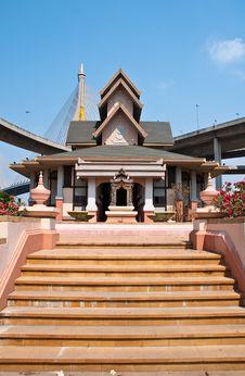 Free Exterior Thai Style Stock Photo - 18336880