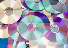 Free CD Background Stock Photo - 18336970
