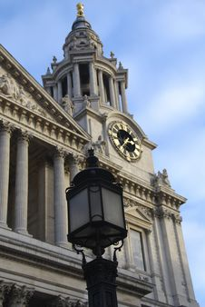 Free St. Paul S Clock Tower Royalty Free Stock Photography - 18337027