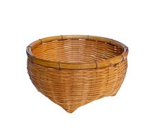 Free Vintage Brown Wicker Basket Royalty Free Stock Photography - 18337747
