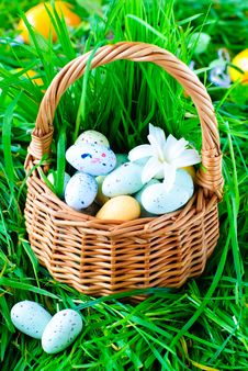 Free Chocolate Easter Eggs Stock Photography - 18338222