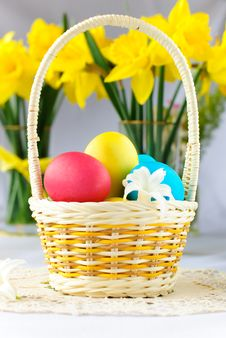Free Colorful Easter Eggs Royalty Free Stock Photos - 18338388