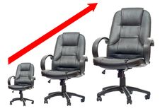 The Office Chair Royalty Free Stock Images