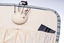 Free Inside Of Sewing Basket Stock Photo - 18338720