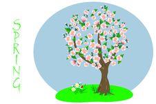 Free Spring Tree. Stock Image - 18339031