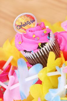 Free Cupcake Celebration Royalty Free Stock Photography - 18339687