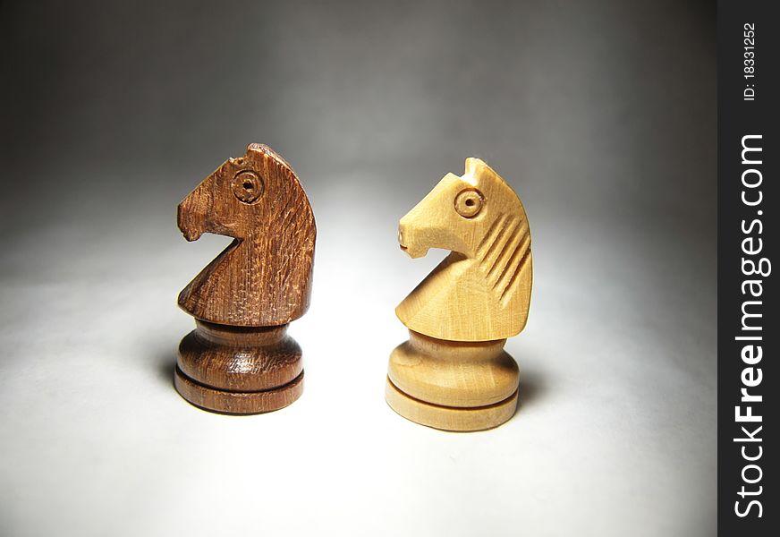 Chess horses