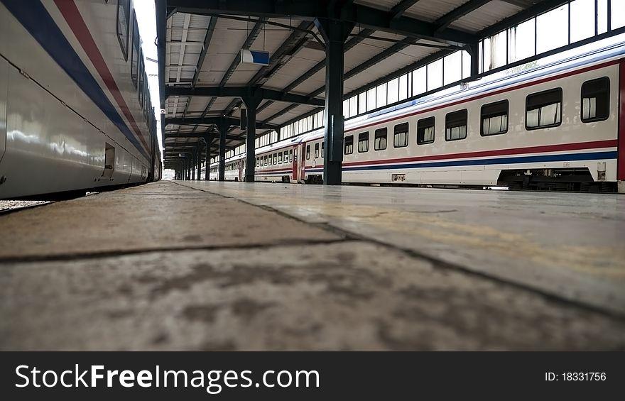 Transportation railway train station