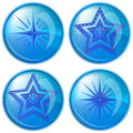 Free Buttons, Stars Royalty Free Stock Photo - 18343035