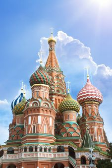 Free St. Basil S Cathedral, Moscow Stock Images - 18340394