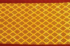 Free Gold Design Textile Royalty Free Stock Images - 18340779