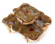 Basket Shaped Chinese Pudding Royalty Free Stock Photo