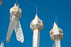 Free Thai Lantern Royalty Free Stock Images - 18341439