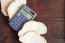 Free Bread Price Stock Photo - 18341930